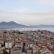 Vesuvio e Napoli città