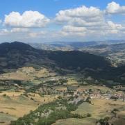 Vista dell'Emilia-Romagna