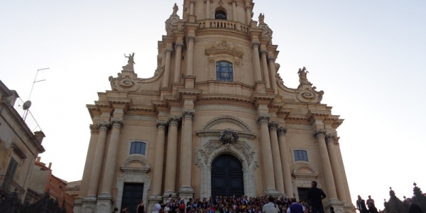 Il Duomo di San Giorgio a Ragusa Ibla in Sicilia