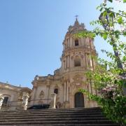 La Chiesa di San Giorgio a Modica in Ragusa, Sicilia
