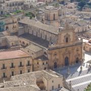 La Chiesa di San Pietro a Modica in Ragusa, Sicilia