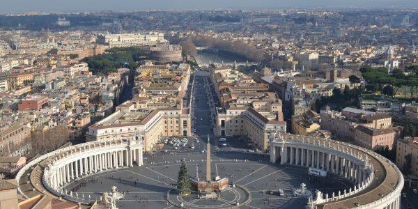 Piazza San Pietro in Città del Vaticano