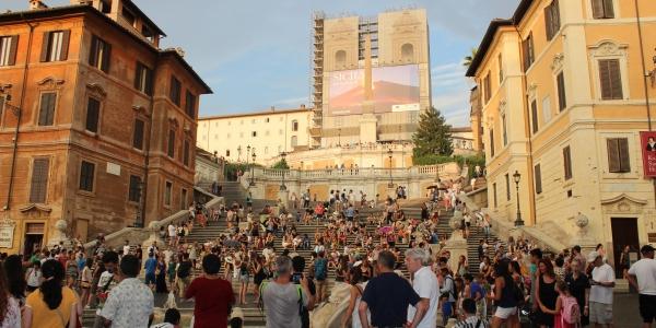 La Scalinata di Trinità dei Monti a Roma