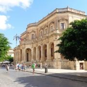 Municipio di Noto in Siracusa, Sicilia