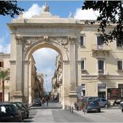 Porta Reale di Noto in Siracusa, Sicilia